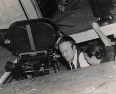 "Orson Welles dirigiendo en ""Ciudadano Kane"" (Citizen Kane, 1941)"