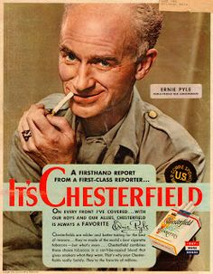 Even Ernie Pyle sold out.