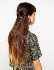 ASOS Triangle Hair Brooch
