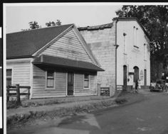 Two old buildings in Fiddletown, 1936. http://digitallibrary.usc.edu/cdm/ref/collection/p15799coll65/id/19883