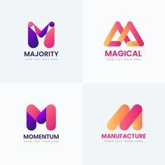 Vector Premium | Logotipo de la letra m Banners, Logo Smart, Letter T, Logo Inspiration, Logo Design, Typography, Company Logo, Words, Creative