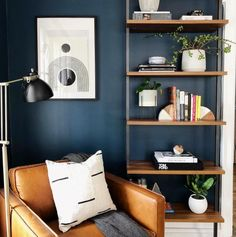 Sensational home office decor - look at our page for many more plans! Home Office Design, Home Office Decor, Diy Home Decor, Office Ideas, Office Designs, Office Table, Office Lounge, Living Room Designs, Living Room Decor