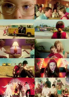 "❀ Little Miss Sunshine (2006) ""There's two kinds of people in this world: there's winners and there's losers. You..."