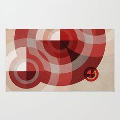 Textures/Abstract 146 Area & Throw Rug by ViviGonzalezArt - $28.00