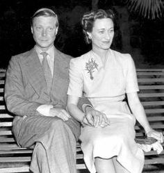 Prince Edward and Wallis Simpson....read this story of love before duty.