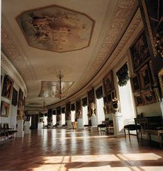 in russia pavlovsk winter palace st petersburg.  I can imagine taking a stroll through here during the winter. Beautiful.