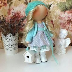 Интерьерные игрушки ручной работы (Куклы Тильда)