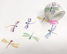 Dragonfly Big Washi Tape(30mm x 5 meters) WT990