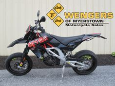 Aprilia SXV 550 Supermoto Motorcycles for sale at Wengers of Myerstown SOLD Bikes For Sale, Motorcycles For Sale, Tractor Parts, Motocross, Tractors, Cars, Vehicles, Motorbikes, Dirt Bikes For Sale