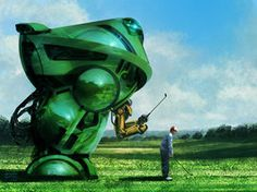 Golf Mech by steve-burg