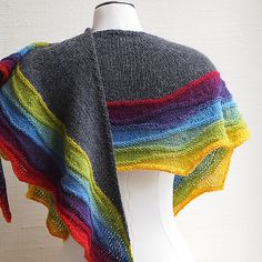 Ravelry: LightWaves pattern by Susan Ashcroft. three euros. In different yarns this comes out completely different. You would never tell its the same pattern!