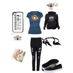"""I am #DIVERGENT"" by kaylaogg on Polyvore"