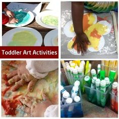 Art activities for one year olds