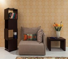 Contemporary Temahome bookcase in Chocolate #bookcase #temahome #modernfurniture #furniture
