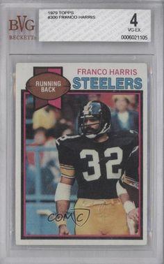Franco Harris BVG GRADED 4 Pittsburgh Steelers (Football Card) 1979 Topps #300 by Topps. $3.00. 1979 Topps #300 - Franco Harris BVG GRADED 4