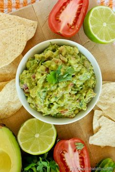 Enjoy a simple but flavorful guacamole recipe where the secret ingredients of cucumber and jarred salsa add layers of flavors to a classic dip! Best Appetizers, Appetizer Recipes, Healthy Snacks, Healthy Recipes, Healthy Fats, Avocado Recipes, Healthy Choices, Yummy Recipes, Guacamole Recipe