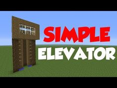 Minecraft 1.6: Redstone Tutorial - Simple Elevator - YouTube
