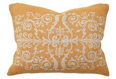 Scroll 12x16 Pillow, Orange on OneKingsLane.com