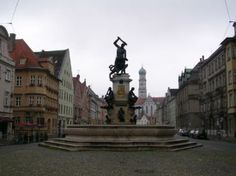 Augsburg, Germany. Where I lived for 6 years of my childhood.