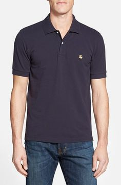Men's Brooks Brothers Slim Fit Pique Polo