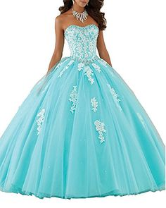 Erosebridal Sweetheart Ball Gown Quinceanera Dress Aqqliq...