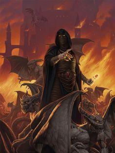 Dragonlance, Ogre Titans Trilogy, Gargoyle King by Duane O. Myers