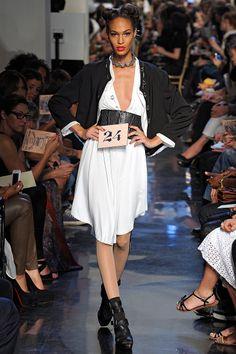 Jean Paul Gaultier  I spy corset belts making a comeback.