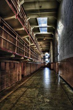 Inside Alcatraz, San Francisco, California by edpuskas
