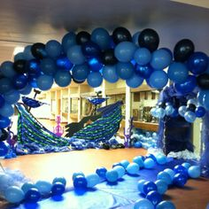 Trendy party beach dance under the sea 32 Ideas Little Mermaid Decorations, Under The Sea Decorations, Dance Decorations, Dance Themes, Prom Themes, Little Mermaid Parties, Balloon Decorations Party, Mermaid Under The Sea, Under The Sea Theme