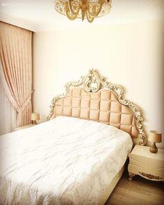 Yatak Odası, Fon perde, Pudra pembe, Abajur