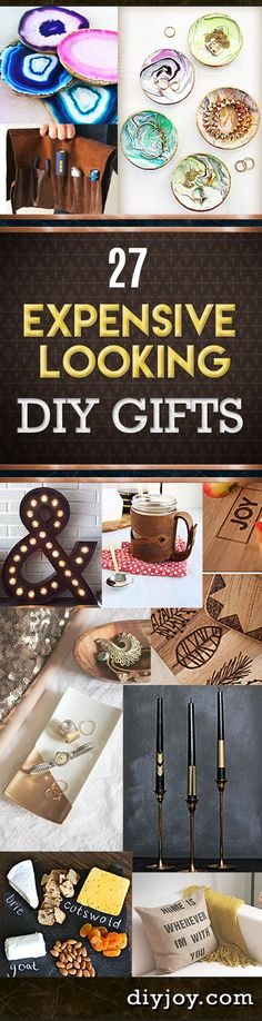Cheap DIY Christmas Gifts and Do It Yourself Ideas for Homemade Holiday Presents on A Budget diyjoy.com/...