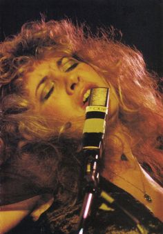 Stevie onstage  ~ ☆♥❤♥☆ ~    lost in the music during Fleetwood Mac's 'Rumours' tour, 1977