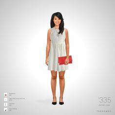 Traje de moda hecho por Leticia usando ropa de Saks Fifth Avenue OFF 5TH, Chicwish, Quiz Clothing, Nordstrom. Estilo hecho en Trendage