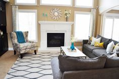 Client Project Reveal: Family Room Refresh