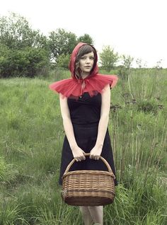 Little Red Riding Hood costume red cape adult #Halloween #costume www.loveitsomuch.com