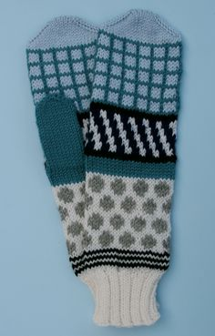 Mittens designed by margretmaria. Inspired by an outfit from Mary Katrantzous s/s 2012 collection.   https://www.margretmaria.com