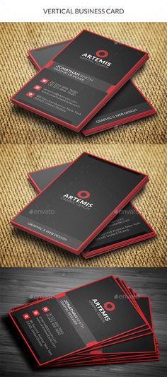 Vertical business card made for companies or personal use. FEATURES CMYK Color Print ready Vertical in with b Vertical business card made for companies or personal use. FEATURES CMYK Color Print ready Vertical in with b