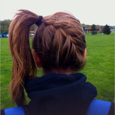 i wear my hair like this all the time :)