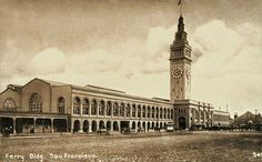 Ferry Building, 1915