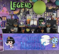Netflix Super Monsters Birthday Party Monster Birthday Cakes, Monster 1st Birthdays, Monster Birthday Parties, Dinosaur Birthday Party, Monster Party, First Birthdays, 1st Birthday Themes, 1st Boy Birthday, Birthday Ideas