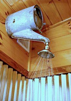 watercan shower