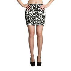 Pixel Mini Skirts