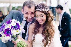 O que jogar aos noivos à saída da cerimónia?