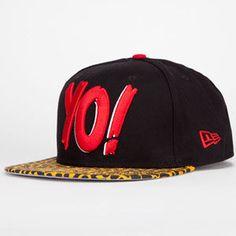75fb07bcb81 NEW ERA Yo New Era Mens Snapback Hat New Era Logo