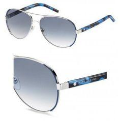 Mens Marc 199/S XT 010 Sunglasses, Palladium/Blue Sky SP, 99 Marc Jacobs