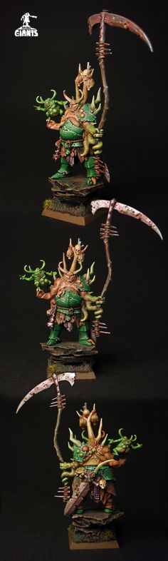 Warriors of Chaos Nurgle Lord Morbidex Twiceborn