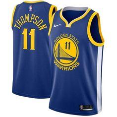 9d78fef42 Nike Warriors  11 Klay Thompson Blue Stitched NBA Swingman Jersey   WarriorsWeek  DubNation  NBAFinals  WarriorsParade  WarriorsGround   Googlejerseys ...