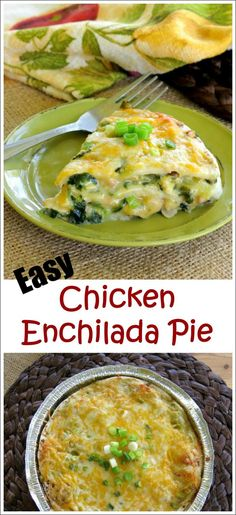 Layered Chicken Enchilada Casserole Recipe - This one has been in the freezer for a month! It's healthy, freezeable and mostly hands-off cook time. Perfect for entertaining!
