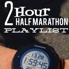 Get Busy Living: My Awesome 2 Hour Half Marathon Playlist