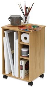 Sturdy, versatile, and stylish, this professional-quality taboret
